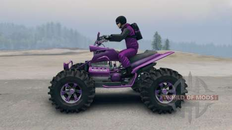 ATV for Spin Tires