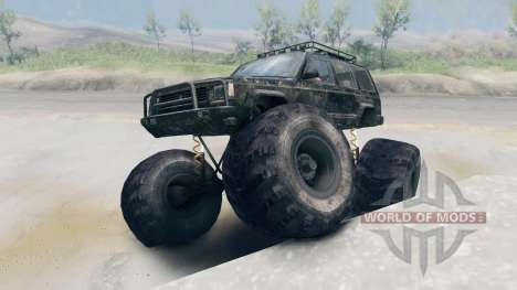 Jeep Grand Cherokee Monster for Spin Tires