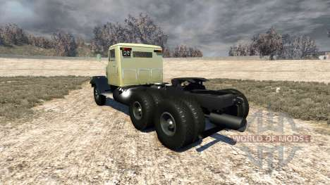 KrAZ-258 for BeamNG Drive