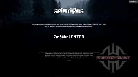 Czech translation for Spin Tires