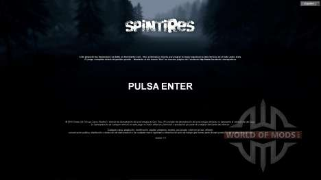 Spanish translation for Spin Tires