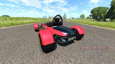 DSC Bora 2014 Red for BeamNG Drive