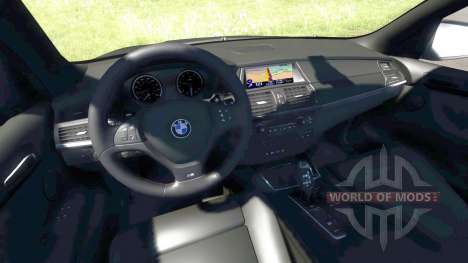 BMW X5M Grey for BeamNG Drive