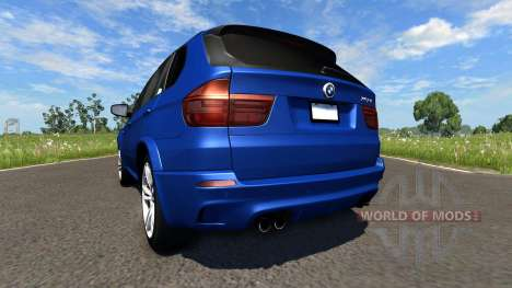 BMW X5M Blue for BeamNG Drive