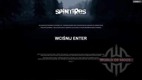 Polish translation for Spin Tires