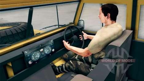 Land Rover Defender Camel for Spin Tires