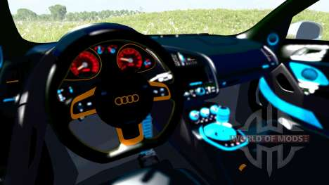 Audi R8 Chrome for BeamNG Drive