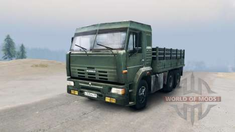 KamAZ-65117 for Spin Tires