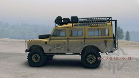 Land Rover Defender Camel for Spin Tires
