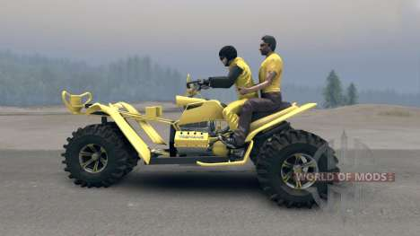 Tricycle v2 for Spin Tires
