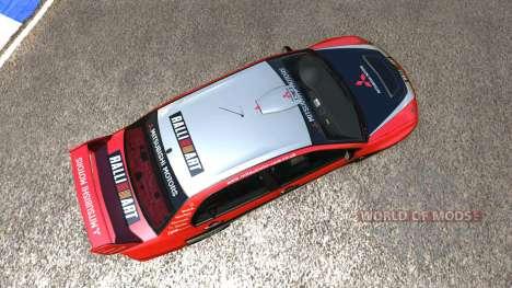 Mitsubishi Lancer Evolution IX 2006 for BeamNG Drive