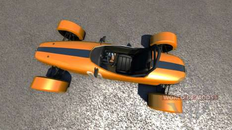 DSC Bora 2014 Orange for BeamNG Drive