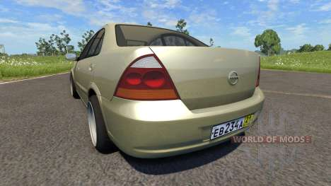 Nissan Almera Classic for BeamNG Drive