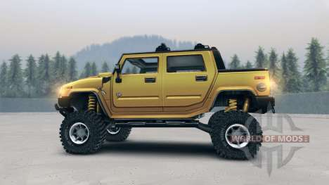 Hummer H2 SUT for Spin Tires