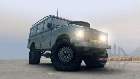 Land Rover Defender Blue for Spin Tires