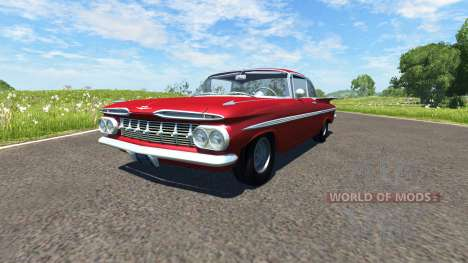 Chevrolet Impala Coupe 1959 for BeamNG Drive