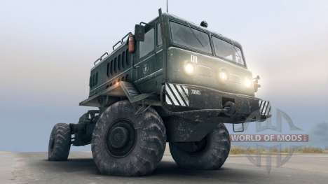 MAZ-535 4x4 for Spin Tires