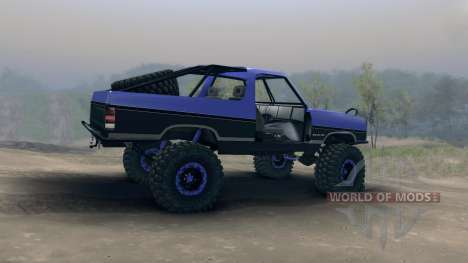 Dodge Ramcharger trail for Spin Tires