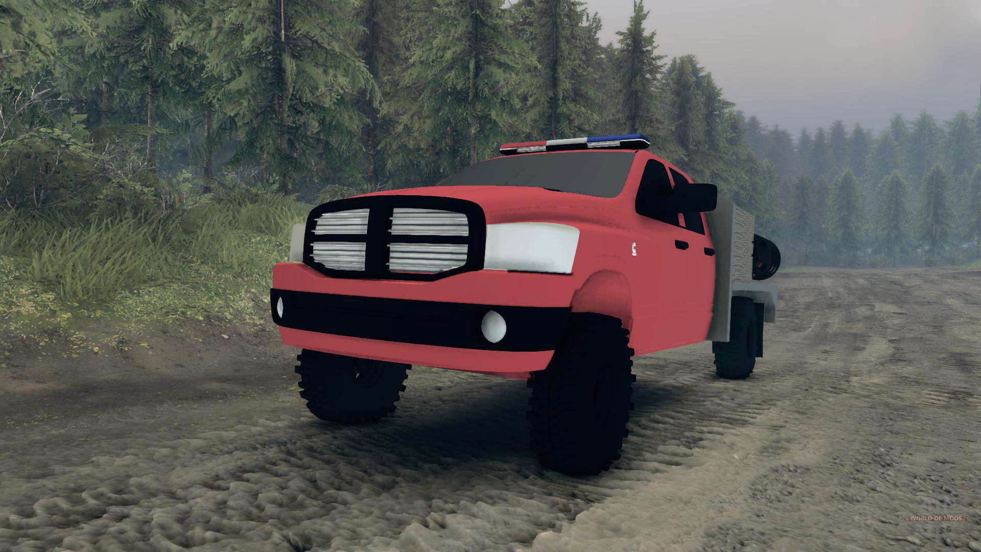 Spintires on 07 Dodge Ram Truck