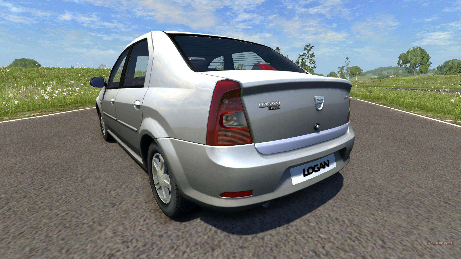 dacia logan 2008 for beamng drive. Black Bedroom Furniture Sets. Home Design Ideas