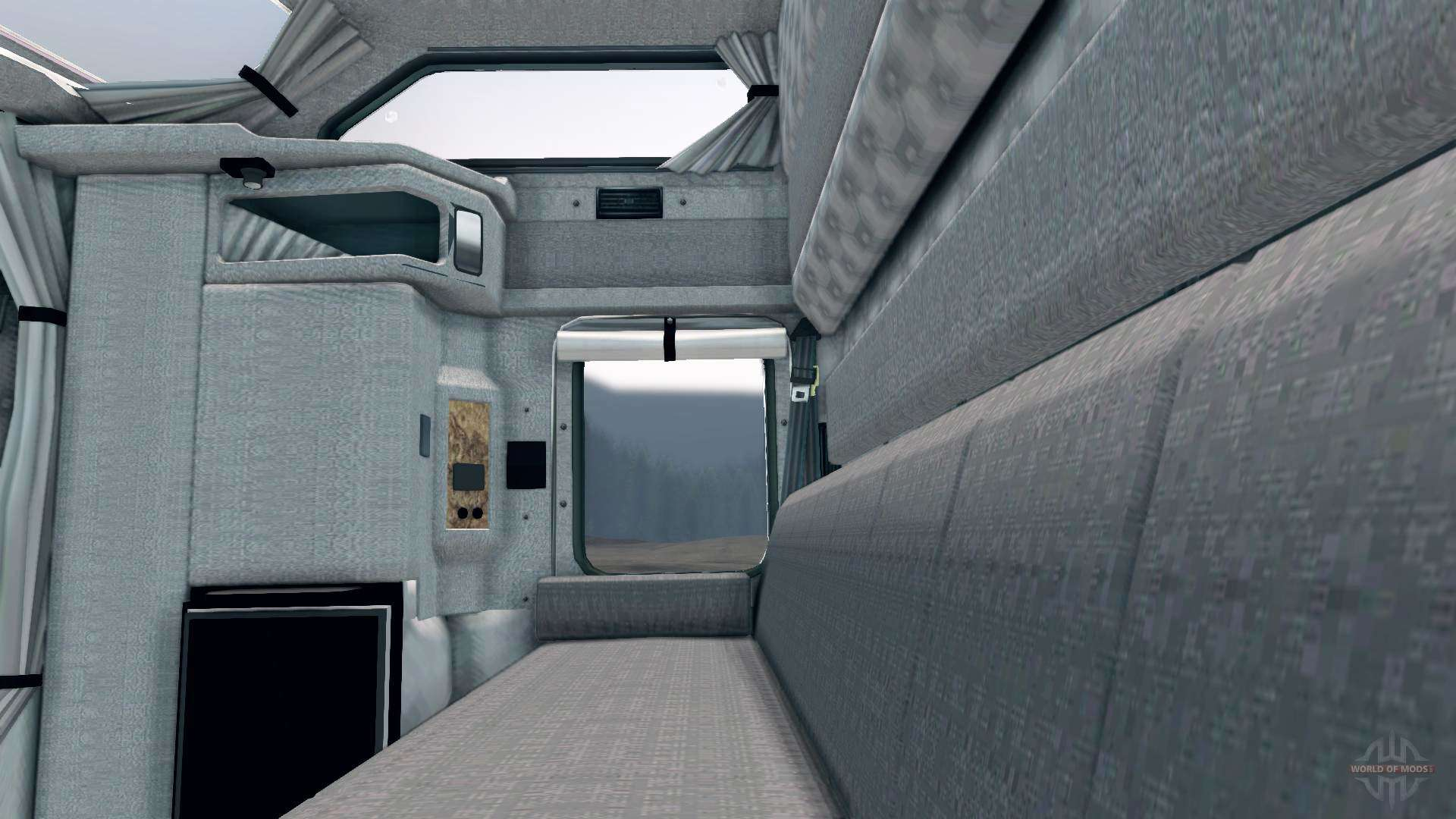 Kenworth t600 for spin tires for Kenworth t660 studio sleeper interior