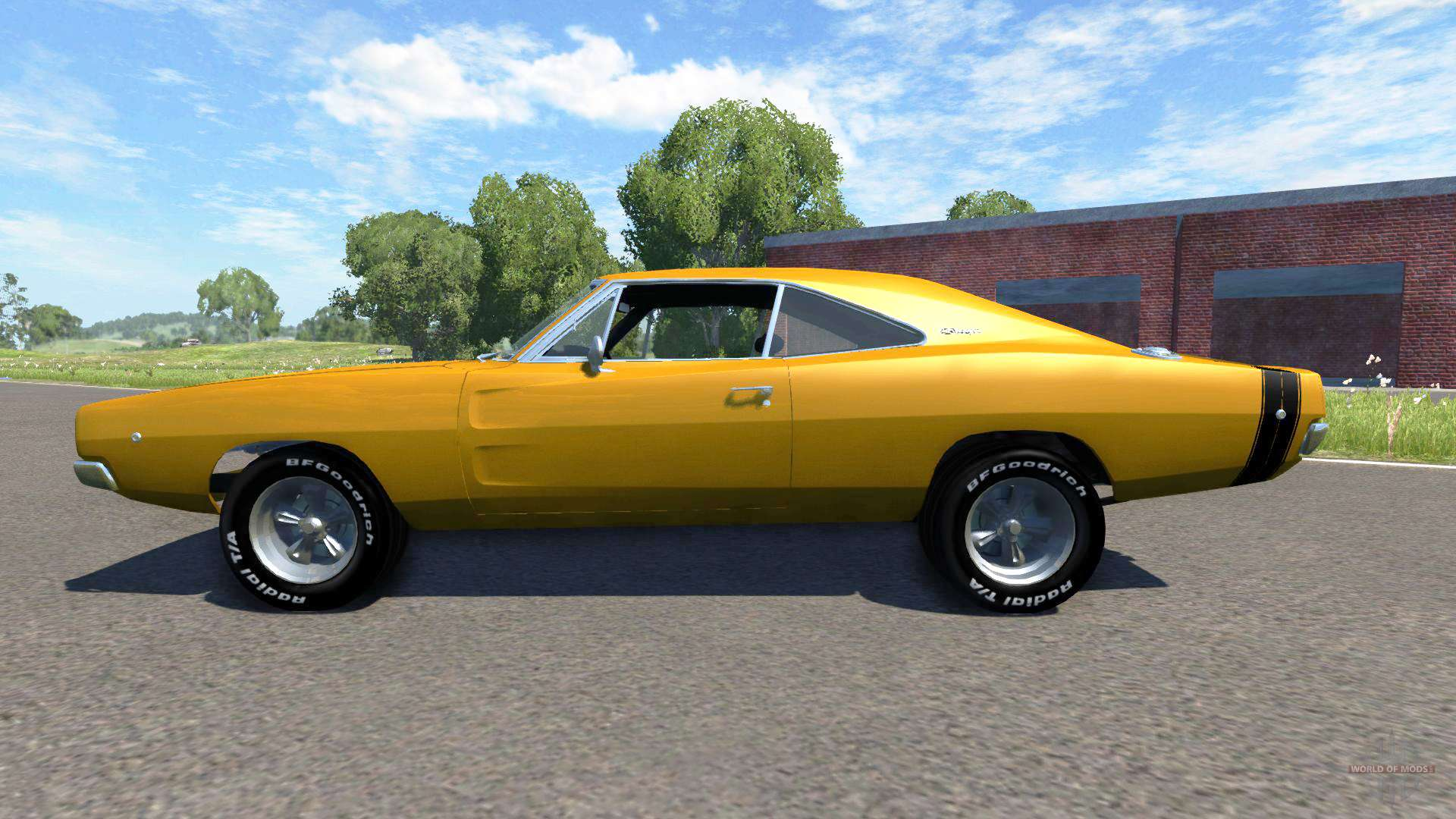dodge charger rt 1970 for beamng drive. Black Bedroom Furniture Sets. Home Design Ideas