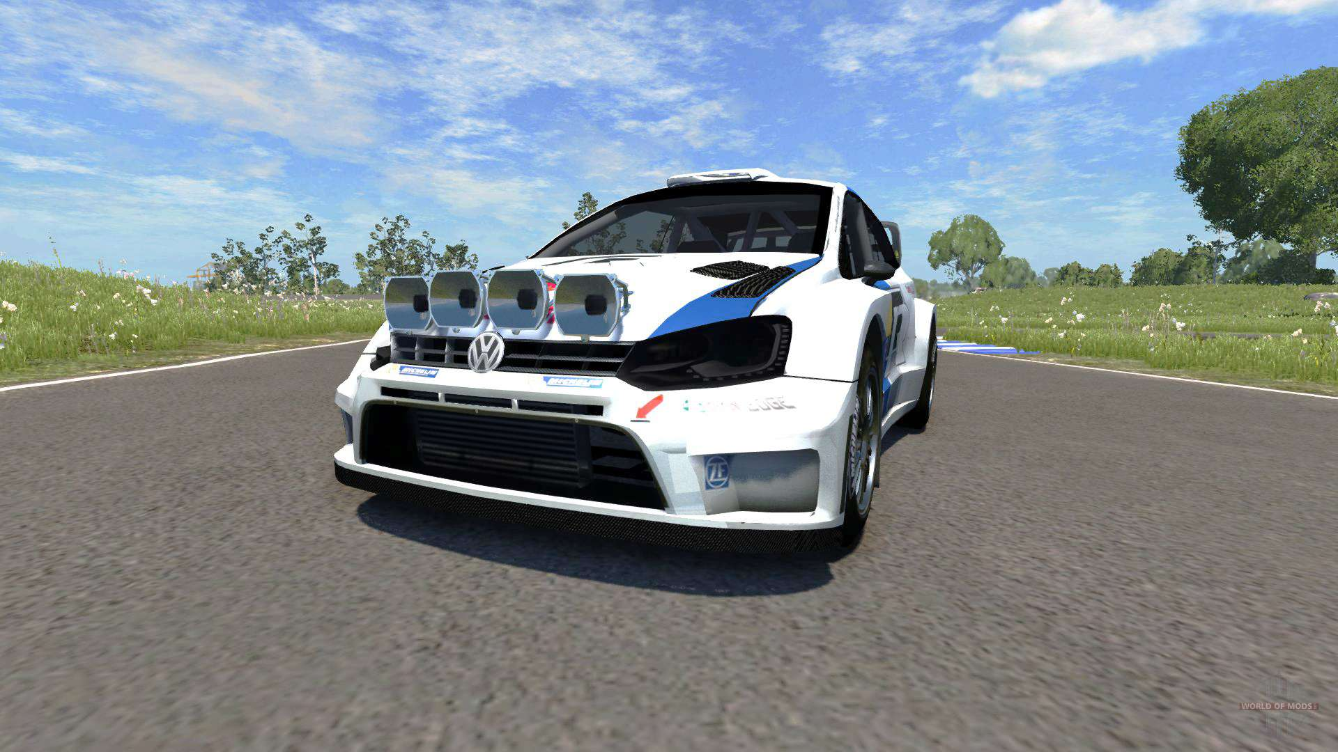volkswagen polo r wrc for beamng drive. Black Bedroom Furniture Sets. Home Design Ideas