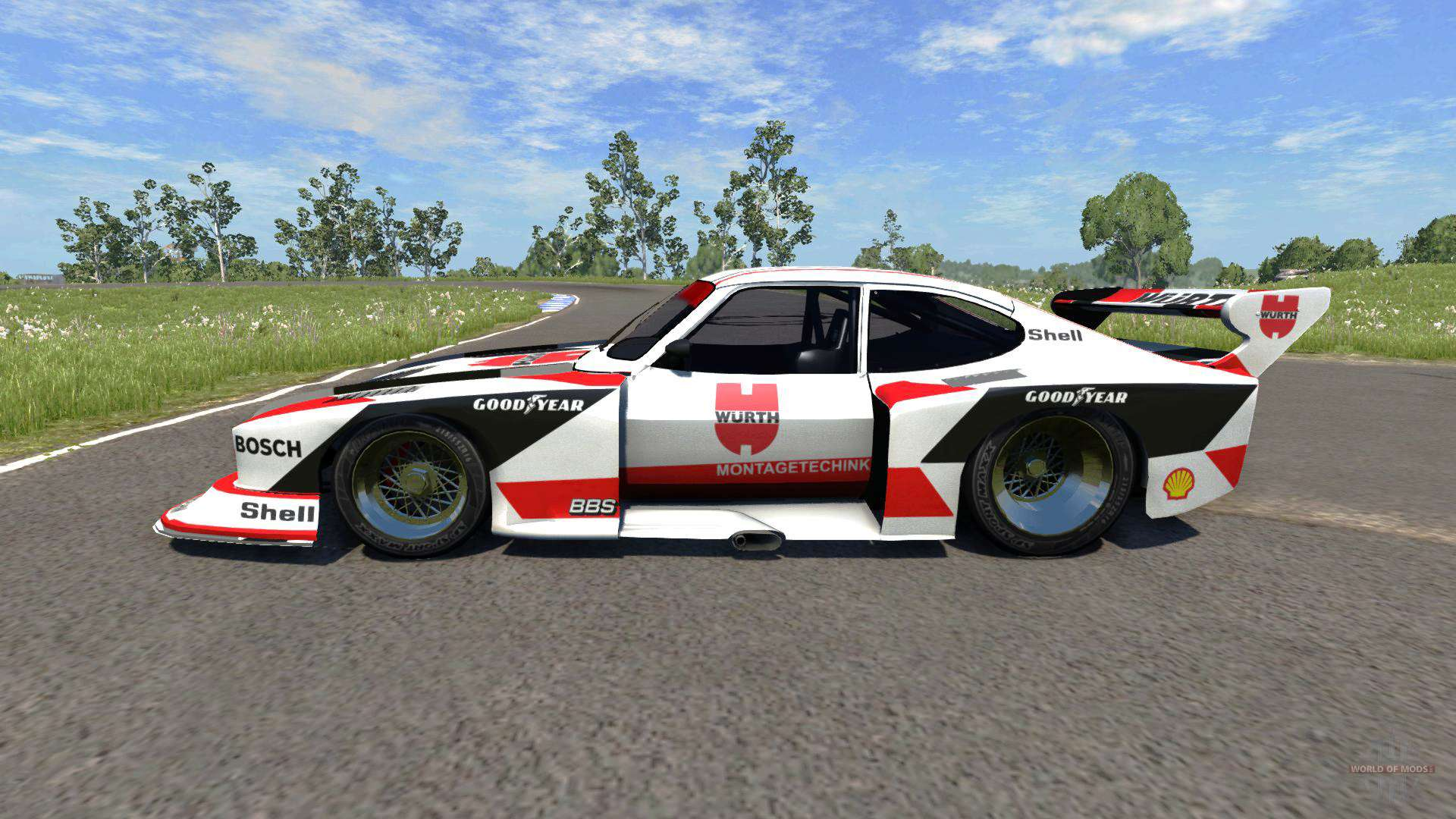 ford capri zakspeed turbo group 5 for beamng drive. Black Bedroom Furniture Sets. Home Design Ideas
