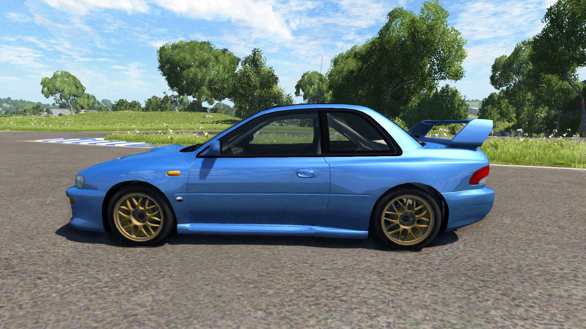 subaru impreza 22b 1998 for beamng drive. Black Bedroom Furniture Sets. Home Design Ideas