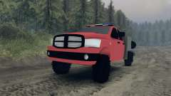 Dodge Ram 1500 brush truck for Spin Tires