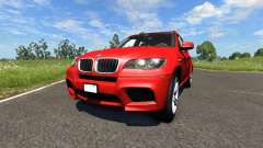 BMW X5M Red for BeamNG Drive