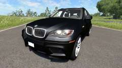 BMW X5M Black for BeamNG Drive
