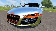 Audi R8 Chrome for BeamNG Drive
