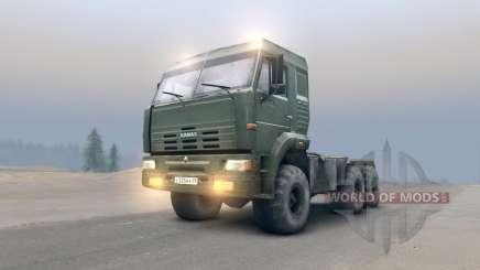 KamAZ-65116 v2.0 for Spin Tires