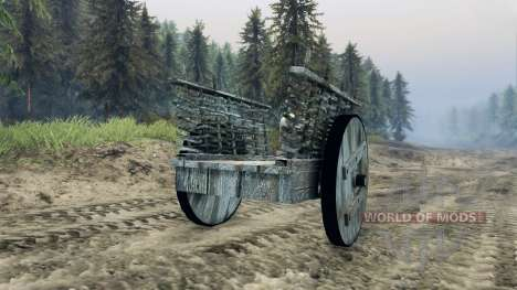 The cart v1.1 for Spin Tires