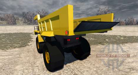 Dumper Minero for BeamNG Drive