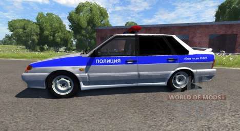 VAZ-2115 Police for BeamNG Drive