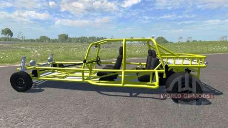 VW Rail Buggy for BeamNG Drive