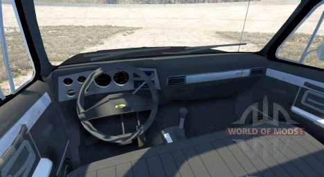 Chevrolet Silverado 1500 1986 for BeamNG Drive
