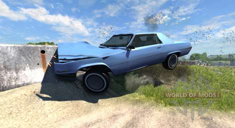 Manana (Grand Theft Auto V) for BeamNG Drive