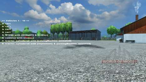 FastSwitcher v1.3 for Farming Simulator 2013