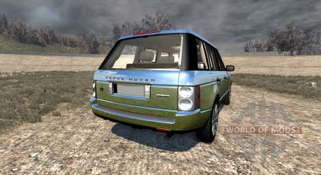 Range Rover Supercharged 2008 [Chrome] for BeamNG Drive
