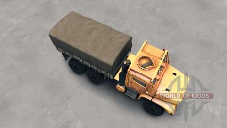 Oshkosh MTVR MK23 wheels v2 for Spin Tires