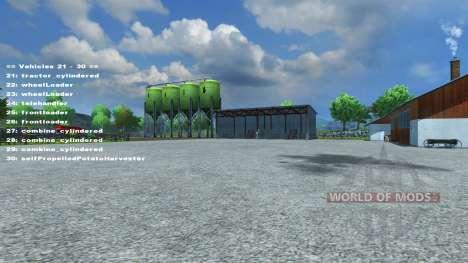 FastSwitcher v1.3 for Farming Simulator 2013