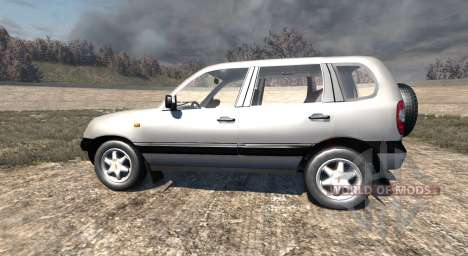 ВАЗ-21236 Chevrolet Niva for BeamNG Drive