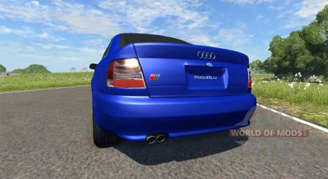 Audi S4 2000 [Pantone Reflex Blue C] for BeamNG Drive