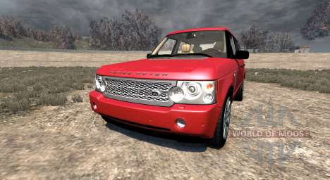 Range Rover Supercharged 2008 [Red] for BeamNG Drive