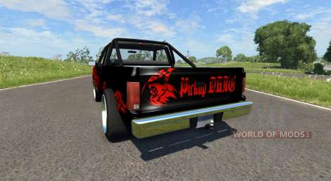 Gavril D-Series DRAG for BeamNG Drive