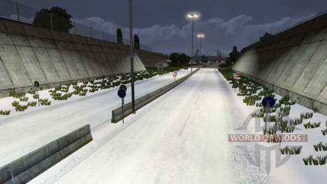 Winter for Euro Truck Simulator 2