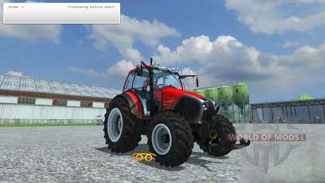 Hand ignition for Farming Simulator 2013